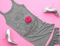 Mod Eleganccy akcesoria Projekta Partyjny strój Fotografia Stock