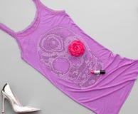 Mod Eleganccy akcesoria Projekta Partyjny strój Obraz Royalty Free