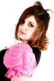 Mod Hair Style Stock Photo
