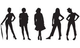 mod kobiety ilustracja wektor