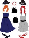 mod kobiety s ilustracji