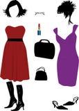 mod kobiety s royalty ilustracja