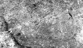 Mod?le blanc grunge d'?raflure Les particules monochromes soustraient la texture Recouvrements d'?l?ment de conception photos stock