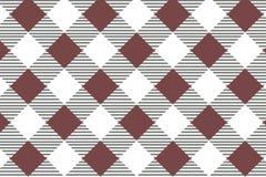 Mod?le diagonal rouge de guingan Texture de losange/de places pour - le plaid, nappes, v?tements, chemises, robes, papier, literi illustration de vecteur