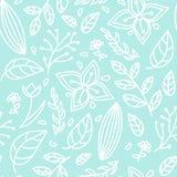 Mod?le floral de couleur sans couture illustration stock