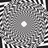 Mod?le ou texture tram? pointill? de spirale de vecteur illustration stock