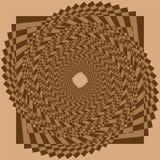 Mod?le ou texture tram? pointill? de spirale de vecteur illustration libre de droits