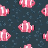 Mod?le sans couture de poissons color?s E r illustration libre de droits