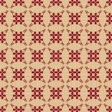 Mod?le sans couture g?om?trique de vecteur de luxe Or et ornement abstrait de Bourgogne illustration stock