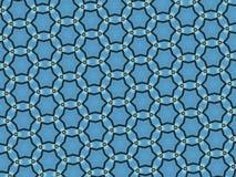 mod?les abstraits de couleur doucement bleue illustration libre de droits
