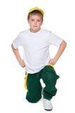 Mod potomstw chłopiec zdjęcia stock