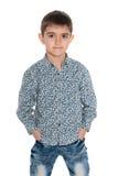Mod potomstw chłopiec obrazy royalty free