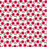 Mod roses background pattern Royalty Free Stock Images