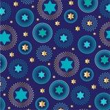 Mod tła żydowski gwiazdowy wzór ilustracji