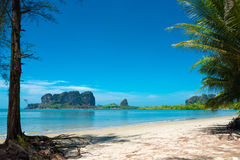 Mod Tanoy beach, Thailand Royalty Free Stock Photo