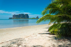Mod Tanoy beach, Thailand Royalty Free Stock Images