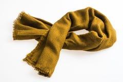 0fdae51959a01 Moda żółty Szalik Dla Zima Sezonu Zdjęcie Stock - Obraz złożonej z ...