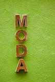 Moda. Royalty Free Stock Image
