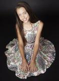 Moda adolescente de la muchacha Foto de archivo libre de regalías