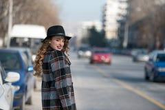 Moda adolescente en ciudad Imagen de archivo