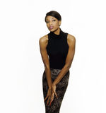 Moda afroamericana hermosa fotos de archivo libres de regalías