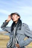 moda azjatykci mężczyzna Obraz Royalty Free