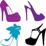 moda buty royalty ilustracja