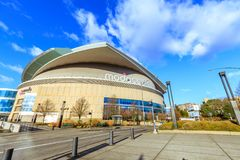 Moda Center, formerly known as the Rose Garden, is the primary i Stock Photo