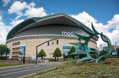Moda Center in Portland, Oregon Royalty Free Stock Photography