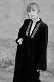 moda czarny biel Obraz Royalty Free
