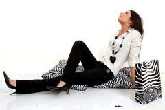 moda czarny biel Fotografia Stock