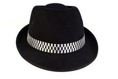 Moda dęciaka kapelusz Obrazy Royalty Free