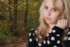 Moda de Beuty adolescente Foto de archivo libre de regalías