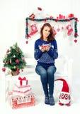 Moda de la Navidad Imágenes de archivo libres de regalías