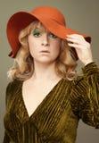 Moda de los años 70 del vintage Fotografía de archivo libre de regalías