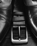 Moda de los hombres Accesorios de los hombres, aún vida Mirada del negocio Foto de archivo libre de regalías