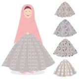 Moda de los musulmanes Imagen de archivo