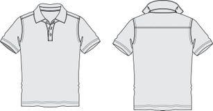 Moda de Polo Shirt Sketch Graphic Illustrations Imagen de archivo