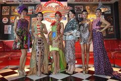 Moda del batik Foto de archivo libre de regalías