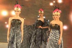 Moda del batik Imagen de archivo libre de regalías