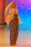 Moda del batik Imagenes de archivo