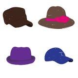 Moda del sombrero Fotos de archivo