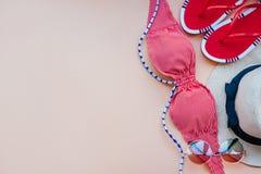 Moda del verano flatay Fotos de archivo libres de regalías
