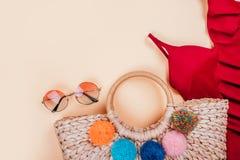 Moda del verano flatay Fotografía de archivo