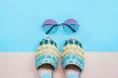 Moda del verano flatay Foto de archivo