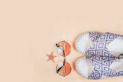Moda del verano flatay Fotografía de archivo libre de regalías