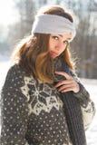 Moda dla zimnych dni fotografia royalty free