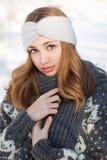 Moda dla zimnych dni obrazy royalty free
