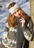 Moda dla zimnych dni zdjęcia royalty free