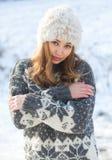 Moda dla zimnych dni zdjęcie royalty free